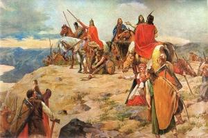Besiedlung des Adriaraums durch die Kroaten im 7 Jh.