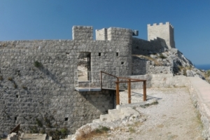 Festung Fortica oberhalb von Omis