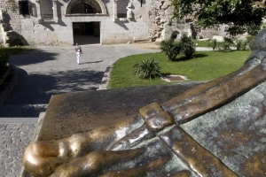 Glücksbringer - großer Zeh der Statue d. Bischofs Gregors zu Nin (Split)