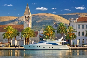 Trogir - a picturesque town on the islet under protection of UNESCO