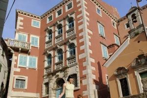 Barockpalast der Fam. Battiala-Lazzarini in Labin