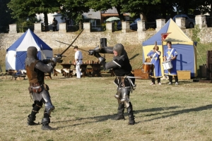 SvetvincenatMedieval tournament in Svetvincenat