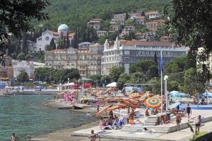 Strand Slatina - Opatija