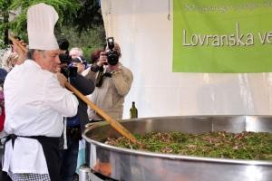 Asparagus Festival in Lovran
