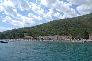 Strand in M. Draga