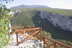 Vela Draga - Aussichtspunkt am Lehrpfad
