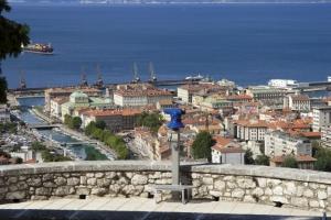 Stadtblick von der Festung Trsat