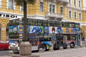 Sightseeing-Bus in Rijeka