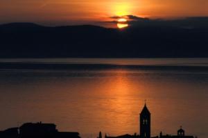 Sonnenuntergang in Baska Voda