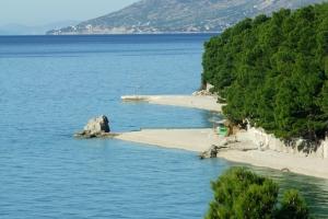 Beach in Baska Voda