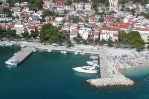 Hafen von Baska Voda