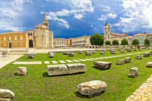 Forum and Church of St. Donatus (9th cent.)