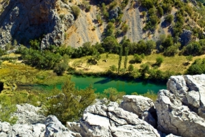 Wasserlauf der Krka