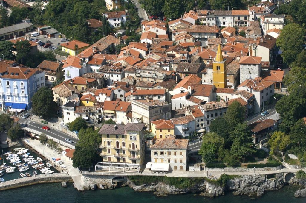Opatija Riviera Kroatien Lovran Kvarner Bucht Hotel Park