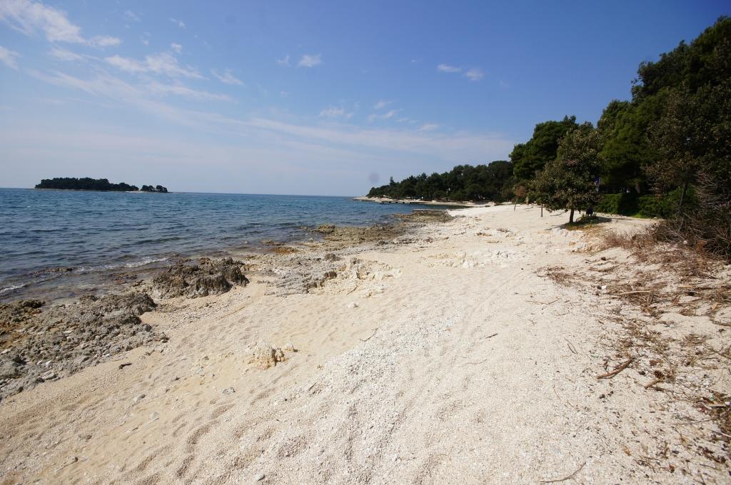 Beach Borik Rovinj Rovinj Bestofcroatia Eu Beach Guide