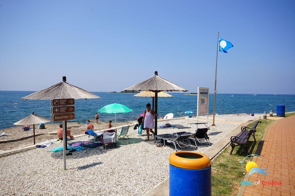strand camp zelena laguna pore strandf hrer von. Black Bedroom Furniture Sets. Home Design Ideas