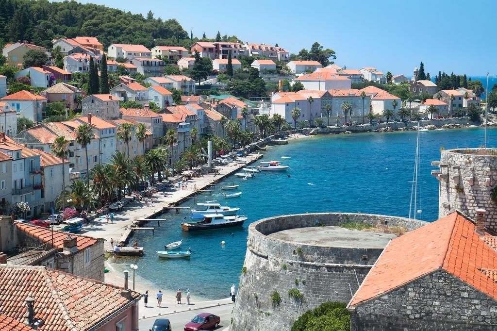 Korcula Croatia  city photo : village on island korcula croatia dalmatia region europe aleksandar ...