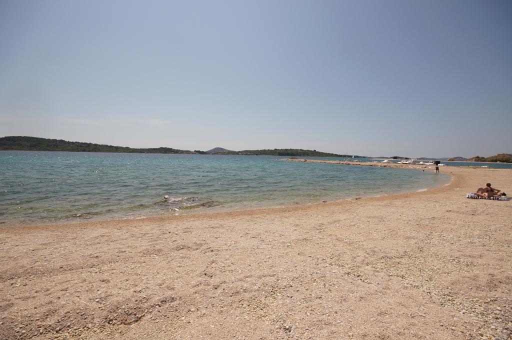 Plaża Srima Vodice Przewodnik Plaża Bestocroatia Eu